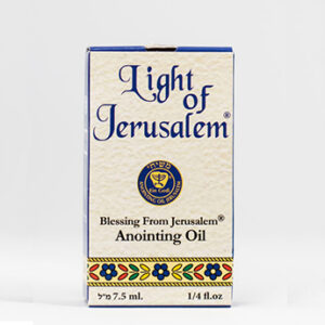 HUILE d'ONCTION – Lumière de Jérusalem